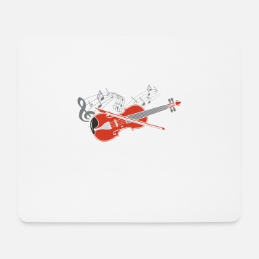 Fiddlestick Violin violin player lover gift idea motif - Mouse Pad