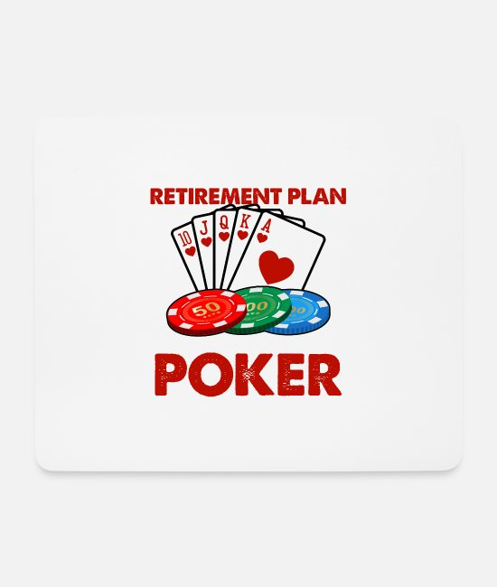Play Mouse Pads - Yes I Do Have A Retirement Plan I Plan On Playing - Mouse Pad white