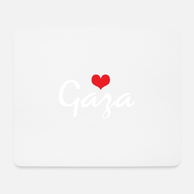Conflict Gaza Heart - Mouse Pad