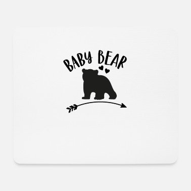 Matching Outfit Baby bear - matching outfit with mom or dad - Mouse Pad