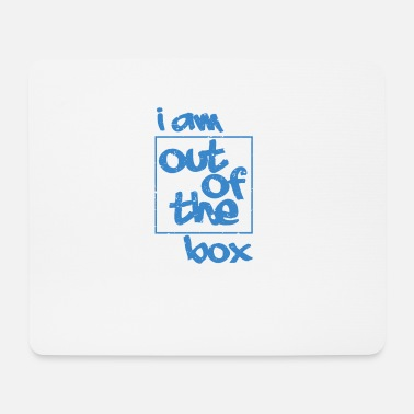 Occasion i am out of the box - Mouse Pad