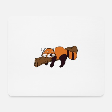 Christmas Lazy Red Panda To Do List Nothing - Mousepad