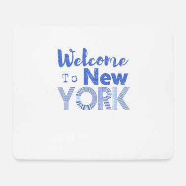 Nyc Welcome to New York Vintage - Mouse Pad