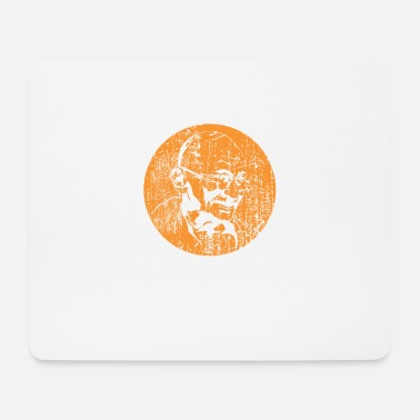 Grungy Grungy Gandhi - Mouse Pad