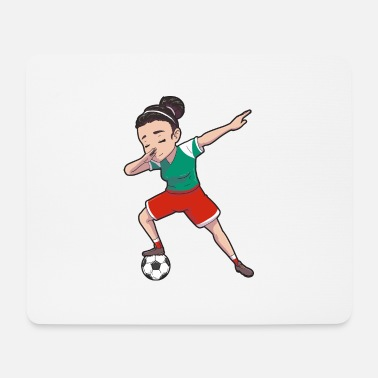 Football Field Bulgaria Girl Soccer female soccer player - Mouse Pad