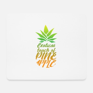 Sun Exotic hint of pineapple - Mouse Pad