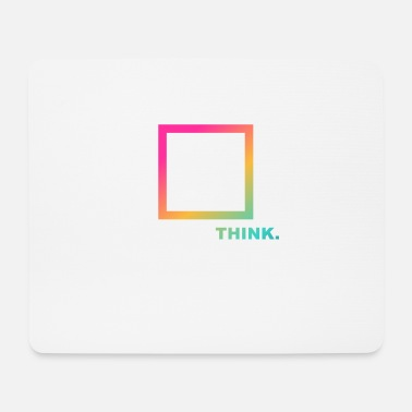 Opinion Think outside the box, lateral thinker, think differently - Mouse Pad