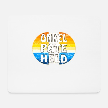 Held ONKEL PATE HELD - Mousepad