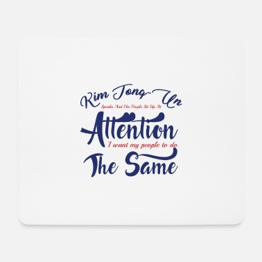 Politics Attention - Mouse Pad