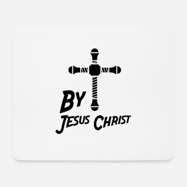 Jesus Christ By Jesus Christ CROSS Jesus Christ - Mouse Pad