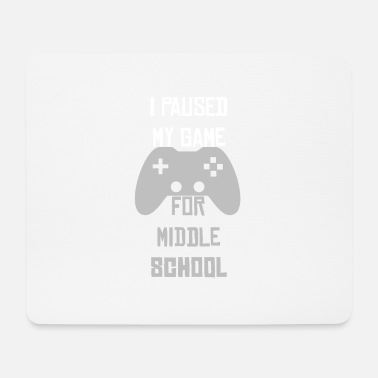 Gymnasium Gamer game Hauptschule Realschule Gymnasium - Mouse Pad
