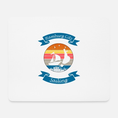 Alster Hamburg City Sailing - Mouse Pad