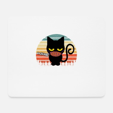 Animal Collection Meow I'm A Cat Halloween - Mouse Pad
