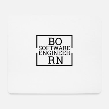 Computer Science Born software engineer | Computer science - Mouse Pad