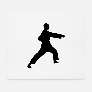Punch Punch karate or teakwondo punch - Mouse Pad