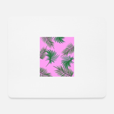 Jungle Tropical Leaves - Mouse Pad