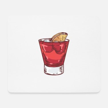 Cocktail A Cocktail Glass With Cocktail - Mouse Pad