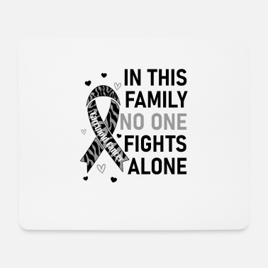 Finger In This Family No One Fights Alone | Carcinoid - Mouse Pad