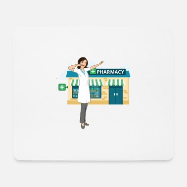 Laughter Dab Dabbing cool pharmacist - Mouse Pad
