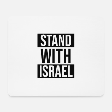 Jewess #standwithisrael / Solidarity with Israel - Mouse Pad