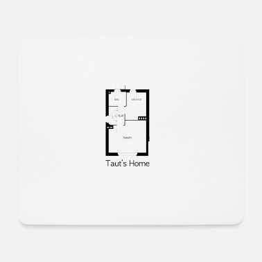 Architecture Bruno Taut's Home - Mouse Pad