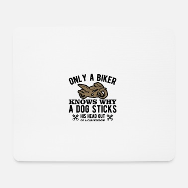 Christmas Present Only a biker - Mouse Pad