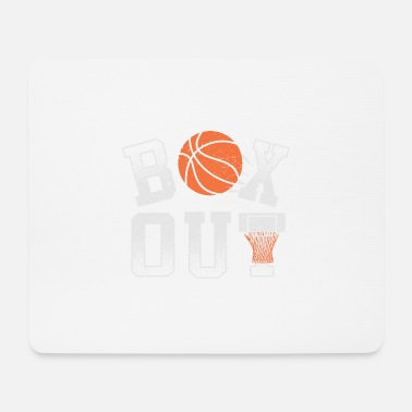 Basketball Coach Shirt Box Out rebound defense - Mouse Pad