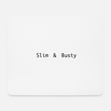 Besamung slim and busty - Mousepad
