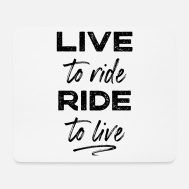 Biker Bikers - Mouse Pad