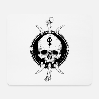Mythical Artistic Skull - Mouse Pad