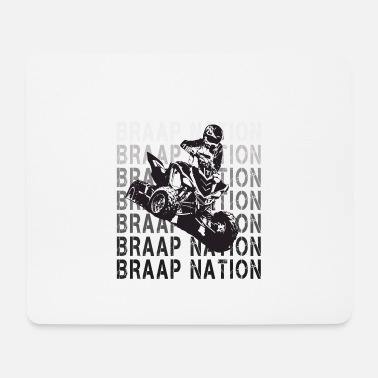 Automobile Nation Braap - Tapis de souris
