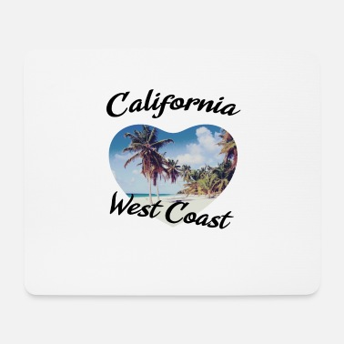 West Coast California west coast - Mousepad