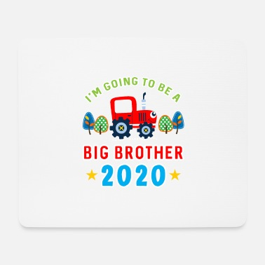 Field Farmer Kids Tractor Gift · Brother 2020 - Mouse Pad