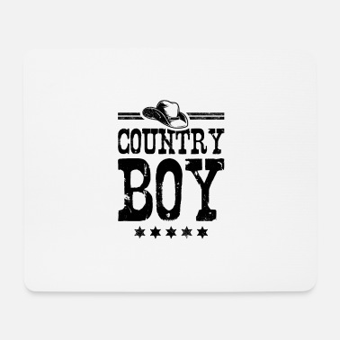 Country Country Boy - Musemåtte