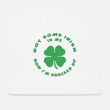 Funny Irish Funny Irish Pregnant - Mouse Pad