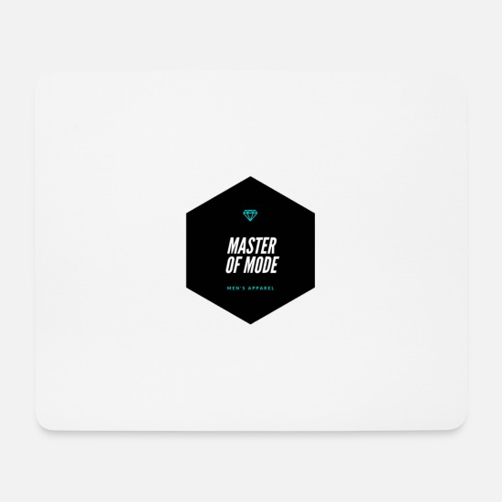 Modellflug Mousepads  - Master of Mode - Mousepad Weiß