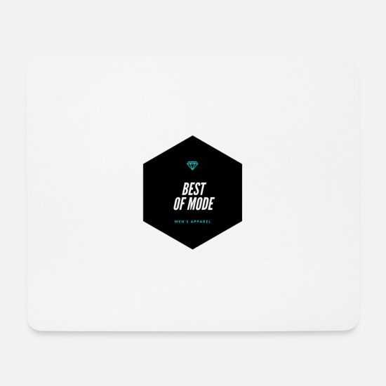 Modellflug Mousepads  - Best of Mode - Mousepad Weiß
