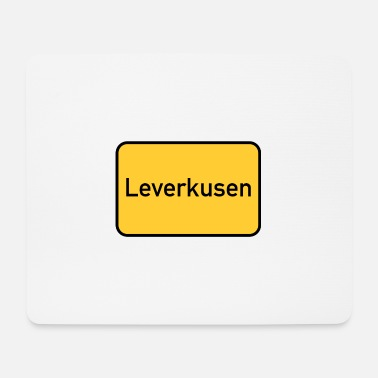 Sign Road sign - Leverkusen - place sign - sign - Mouse Pad