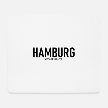 Alster Hamburg City of Lights - Alster - Elbe - Harbor - Mouse Pad