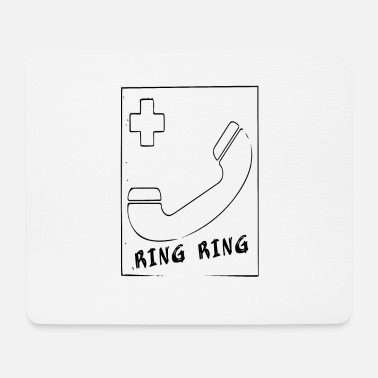 Ring Phone ring ring - Mouse Pad