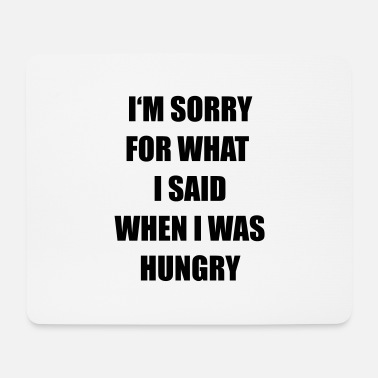 Hungry hungry - Mouse Pad