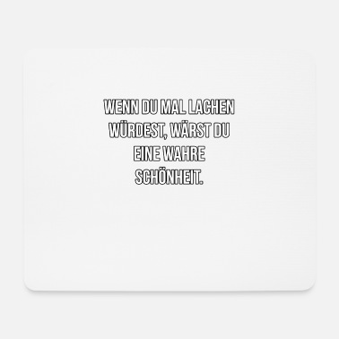 Maler Spruch Lache mal, Spruch, Motivation, Geschenk - Mousepad