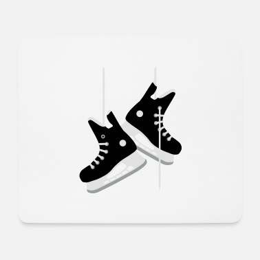 Hockey Skates Ice hockey skates - Mouse Pad
