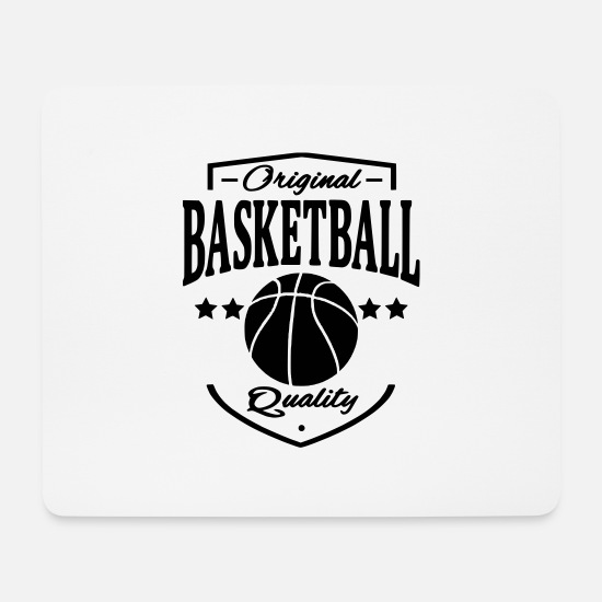 Basketball Tapis de souris  - Basketball - Tapis de souris blanc
