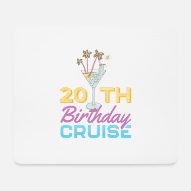 20th 20th Birthday Cruise - Mouse Pad