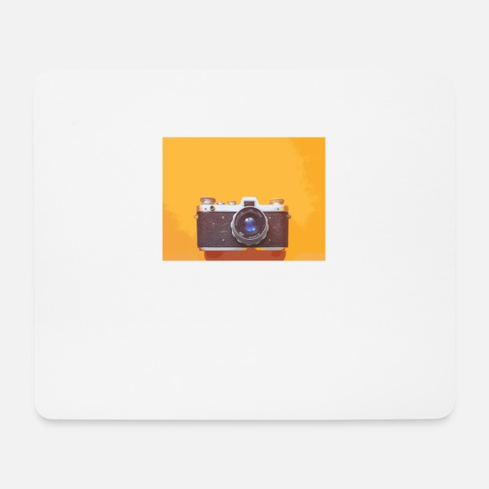 Shooting Mouse Pads - Camera photographer photography camera - Mouse Pad white