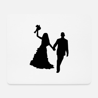 Marriage couple marriage - Mousepad