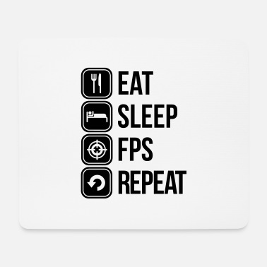 Fps fps - Mouse Pad
