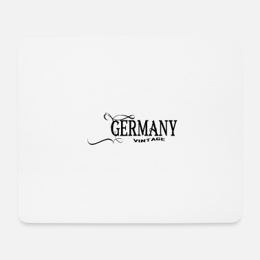 Schland Germany Vintage Design - Mouse Pad