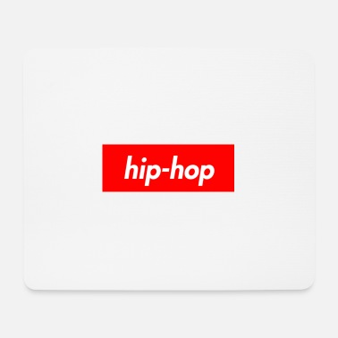 Hop hip hop - Tappetino per mouse (orizzontale)